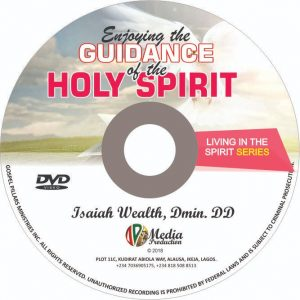 Enjoying the guidance of the Holy Spirit