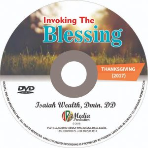 Invoking the blessing