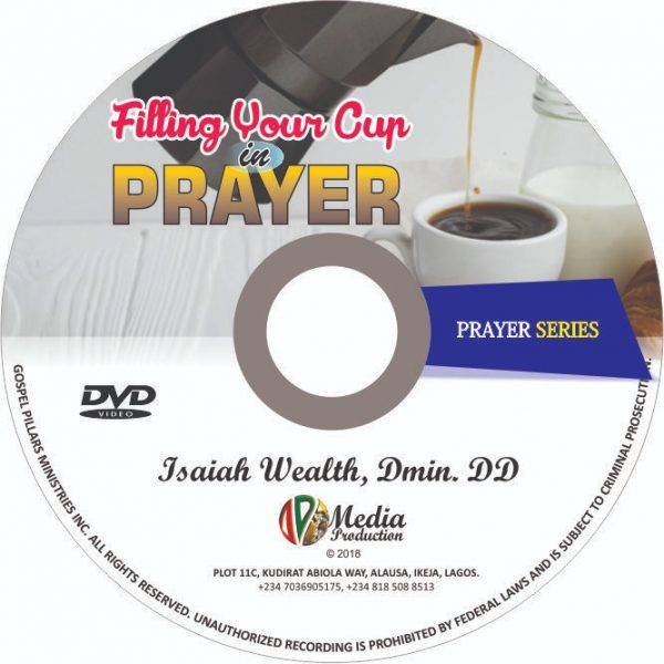 filling your cup in prayer